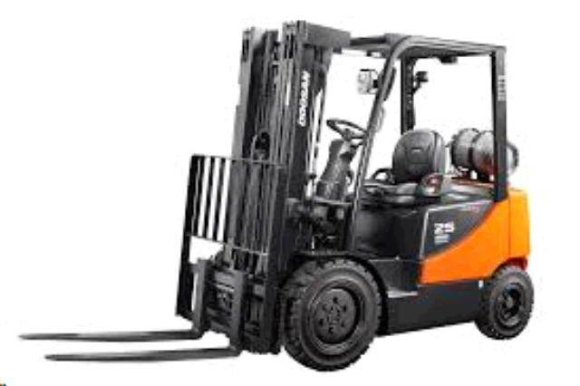 Where to find FORKLIFT, DOOSAN 5000LB LP in Portland