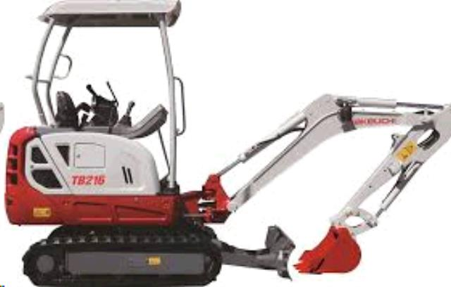 Where to find EXCAVATOR, TAKEUCHI TB216 2 Ton in Portland