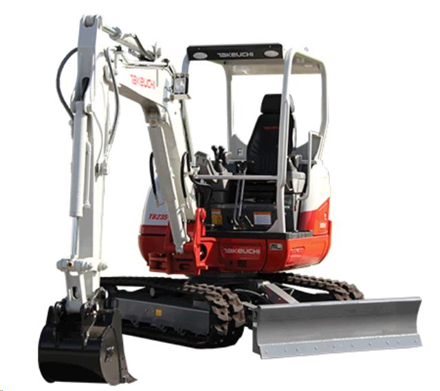 Where to find EXCAVATOR, TAKEUCHI TB235 3.4 Ton in Portland