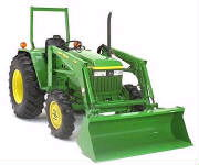 Where to find TRACTOR   LOADER JD 3320 in Portland
